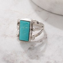 925 Rectangle Ring