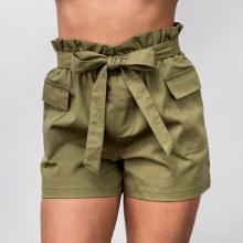 Hyfve Cargo Pocket Paperbag Shorts