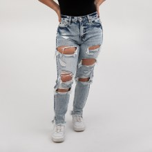 KC High Rise Mom Jeans