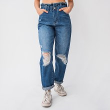Super High Rise Paper Bag Jeans