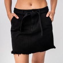 KanCan Belted Mid Rise Mini Skirt