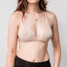 Leto Lace Traingle Back Bra