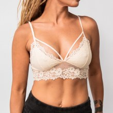 Floral Lace Wide Band Bralette