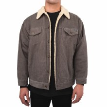 Bronxton Basic Sherpa-Lined Corduroy Jacket