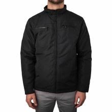 Soul Star TIM Zip-Front Biker Style Padded Jacket