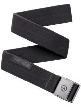 Arcade Black Noir Midnighter Slim Belt