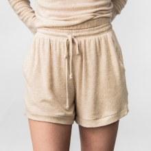 Cehrish 2-Pocket Brushed Knit Shorts