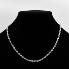 Bronxton Rope Chain Silver