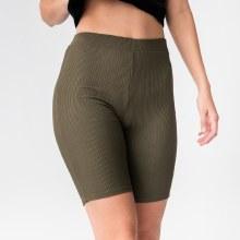H&H Rib Knit Biker Shorts