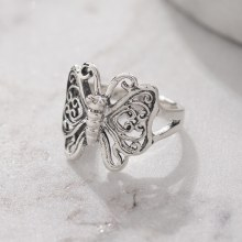 Bronxton 925 Butterfly Ring