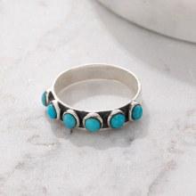 Bronxton 925 Turquoise Ring