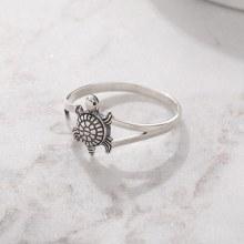 Bronxton 925 Turtle Ring