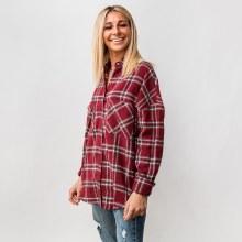 Flannel Button-Down
