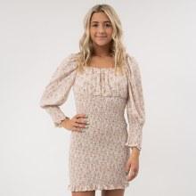 SS Smock Print Dress