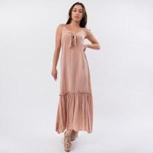 Wasabi Tie Front Cami Dress
