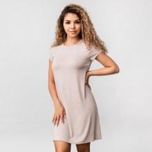Wasabi Short Sleeve Knit T-shirt Dress