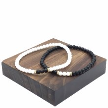 Bronxton Double Beaded Bracelet