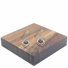 Bronxton Lapis Earring