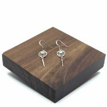 Bronxton Abalone Earring