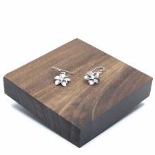 Bronxton Plumeria Earring