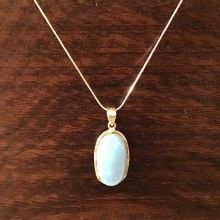 Bronxton Chalcedony Necklace