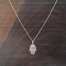 Bronxton Hamsa Hand Necklace