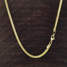 3mm Bronxton Box Stainless Steel Necklace