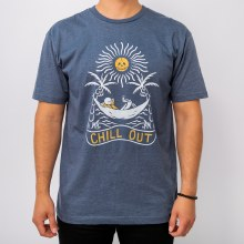 Bronxton Chill Out Print Tee