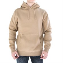 BRONXTON SANDSTONE HEAVYWEIGHT EMBROIDERED PULLOVER HOODIE