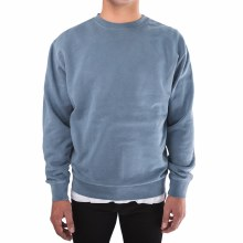 Bronxton Embroidered Pigment-Dyed Sweatshirt