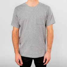 Bronxton Simple Short Sleeve Crew Neck Pocket Tee