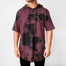 Bronxton Short-sleeve Tie-dyed Hoodie