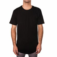 BRONXTON BLACK ORIGINAL LONG TEE XL