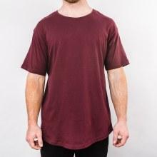 Bronxton Burgundy Original Long T-Shirt