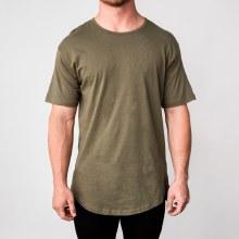 Bronxton Olive Original Long T-Shirt