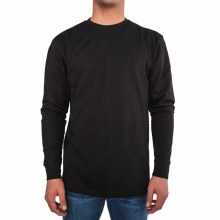 Bronxton Simple Long Sleeve Crew Neck Tee