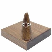 Bronxton Amber Ring Size 8.5