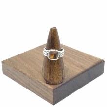 Bronxton Amber Ring Size 9.5