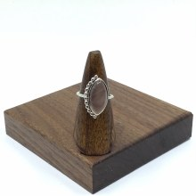 Bronxton Rose Quartz Ring Size 9
