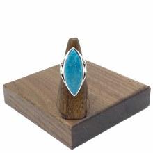 Bronxton Turquoise Ring Size 8.5