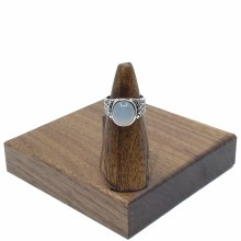 Bronxton Chalcedony Ring Size 6