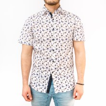Floral S/s Button Up Shirt