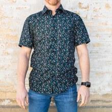 Bronxton Floral S/S Shirt Smal
