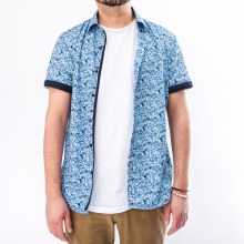 Bronxton Short Sleeve Dizty Floral Button Down