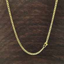 3mm Bronxton Cuban Stainless Steel Necklace
