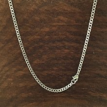 3mm Bronxton Stainless Steel Necklace