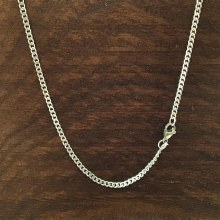 2mm Bronxton Curb Stainless Steel Necklace
