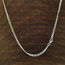 3mm Bronxton Curb Stainless Steel Necklace