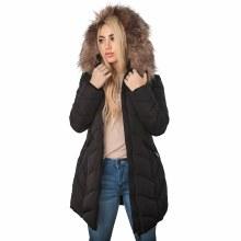 Coalition Faux Fur Quilt Coat
