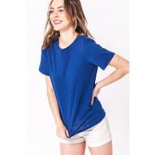 Short-sleeve Round-neck Textured T-shirt